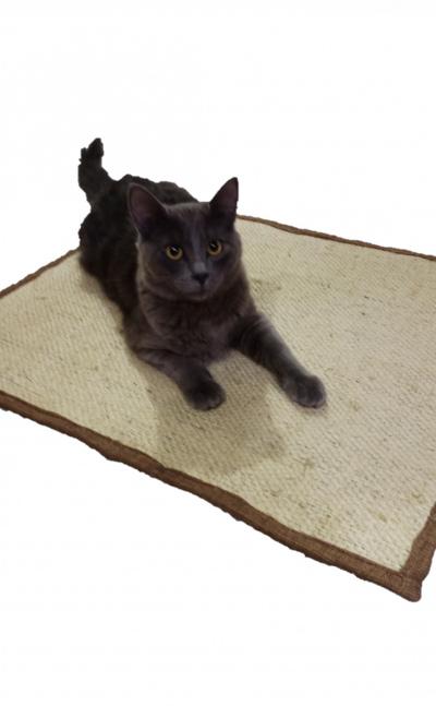 Tapete Rascador En Yute Natural Para Gatos